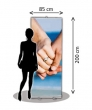 Roll up Banner, 85 x 200cm