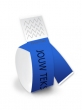 Bedrukte polsbandjes, blauw