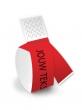 Bedrukte polsbandjes, rood