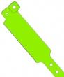 Vinyl polsbandjes, groen